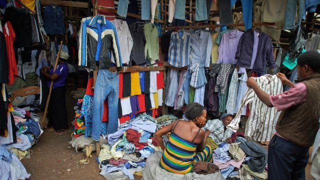 Okrika market.