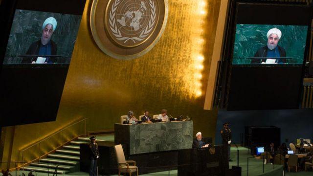 Президент Роухани защищал соглашение в своей речи на Генеральной Ассамблее