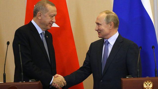 Erdoğan ve Putin