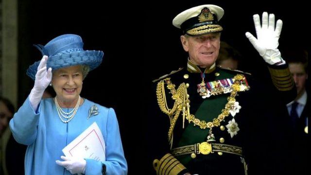 A Rainha e o Príncipe Philip