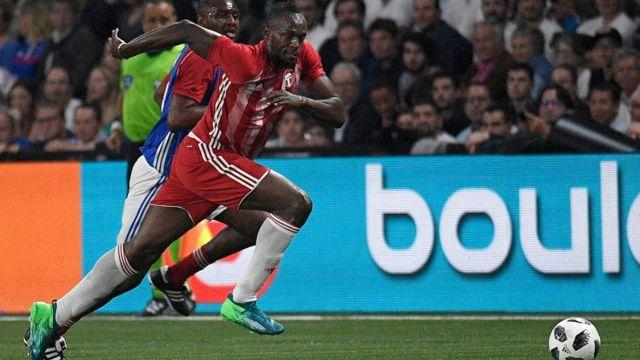Usain Bolt ameshiriki katika mechi kadhaa za maonyeshao mwaka huu