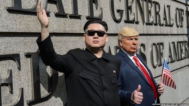 Kim Jong-un, Howard, Donald Trump