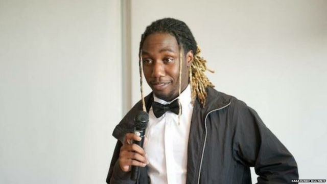 Babatunde Ogunniyi, 23, saw the truck driver revving, speeding and hitting pedestrians and cyclists in Lower Manhattan