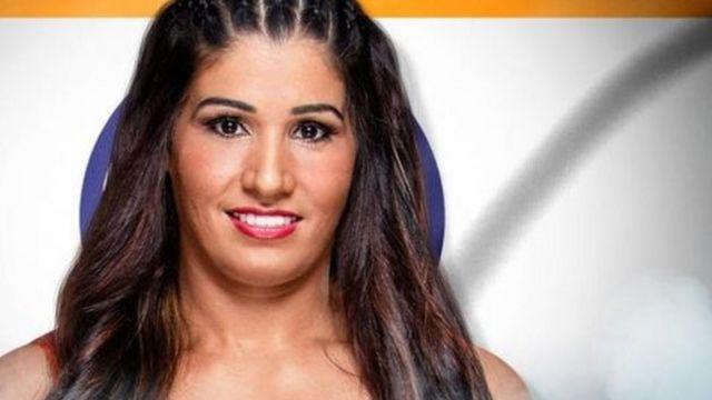 కవితా దేవి దలాల్ డబ్ల్యుడబ్ల్యుఈ మహిళా రెజ్లర్ సల్వార్ కుర్తా ఖలీ Kavita Devi Dalal WWE Salwar Kurta Women Wrestler Khali