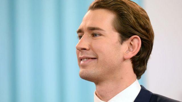 오스트리아 총선에서 많은 관심이 쿠르츠에 쏠렸다.
