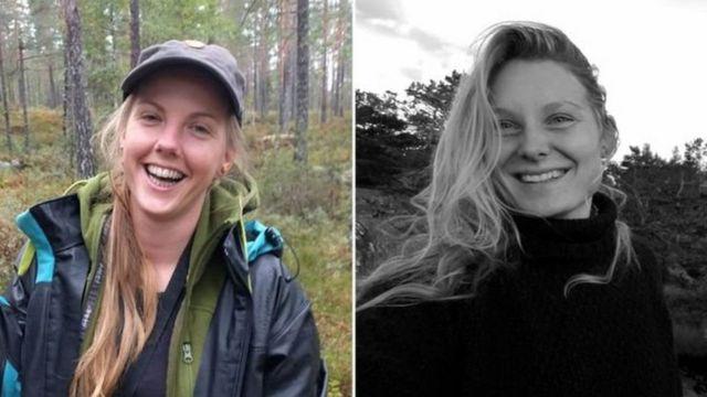 لوئیزا وستراگر یسپرسن، ۲۴ ساله اهل دانمارک و مارین یولاند، ۲۸ ساله اهل نروژ