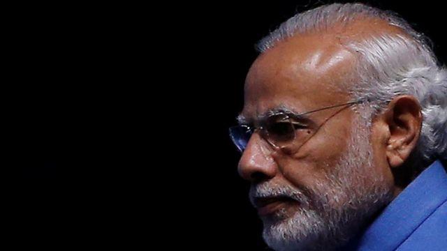 رئيس الوزراء الهندي نارندرا مودي