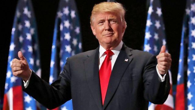 Prezida mushasha wa Amerika Donald Trump ahejeje kwimikwa