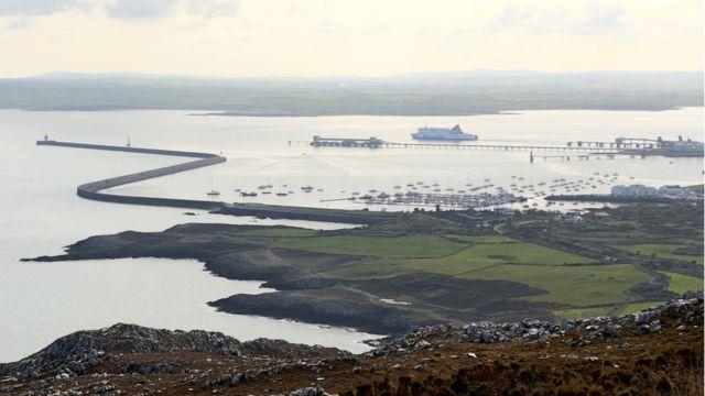 Holyhead port under threat from breakwater erosion
