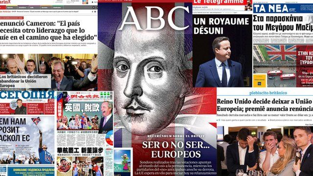 Global media has been reporting on Brexit and its concerning consequences