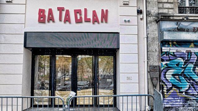 La salle de spectacle Bataclan, où ont été tuées certaines victimes des attentats du 13 novembre 2015.