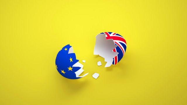Brexit illüstrasyon