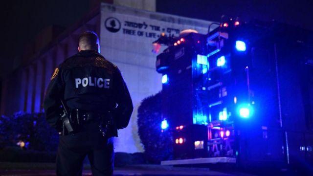 полицейский у синагоги