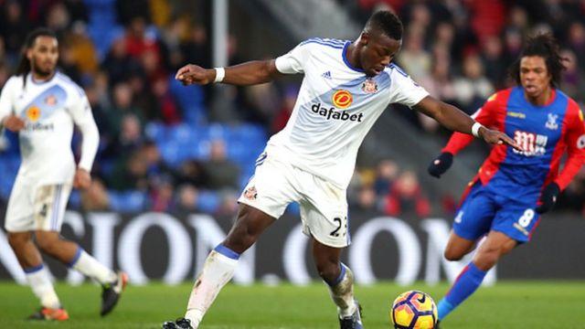 L'ivoirien Lamine Koné a marqué un but avec Sunderland qui s'est imposé 4 buts à 0 sur le terrain de Crystal Palace.