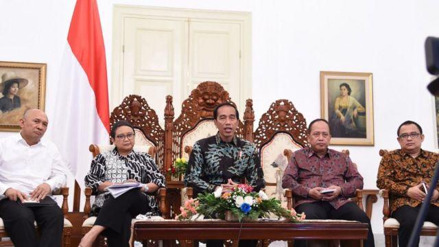 Presiden menegaskan bahwa pelanggaran hukum dan pemicu kerusuhan tak akan dibiarkan