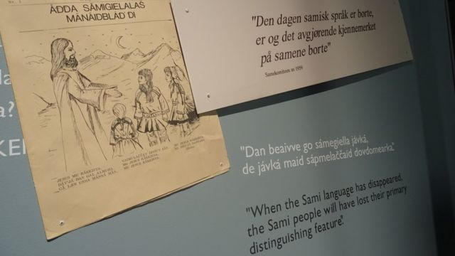 Выставка о саамской культуре