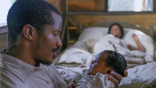 """Escena de la película """"El nacimiento de una nación"""""""
