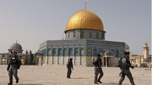 حملات پلیس اسرائیل به مسجدالاقصی باعث بالا گرفتن تنشها شده است