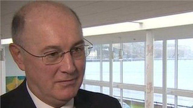 Simon Dean, interim chief executive, Betsi Cadwaladr University Health Board