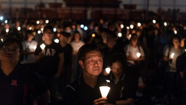 Ежегодный день поминовения событий на Тяньаньмэнь в Гонконге в 2018 году