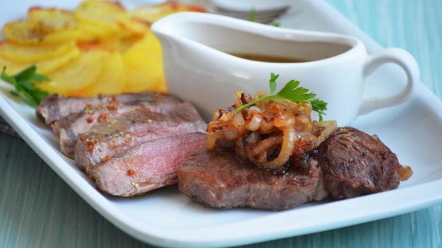 М'ясо і картопля