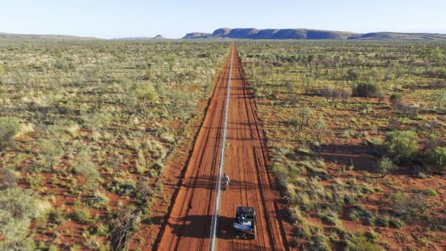 The 44km-long electric fence in the Northern Territory