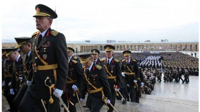 ضباط أتراك