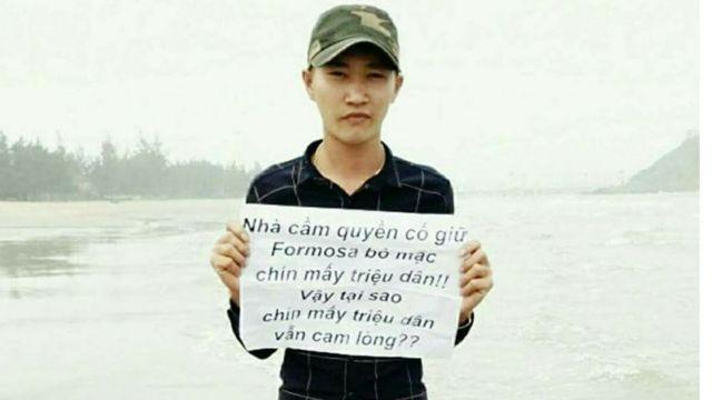 Một hình ảnh trên trang Facebook Người Việt Xấu Xí được cho là của Phan Công Hải