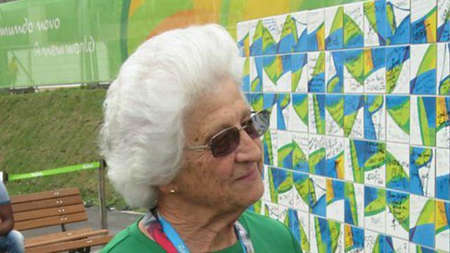 A 74 ans, Anna Botha a une longue carrière derrière elle