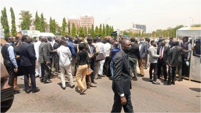 JUSUN strike update today: FG, staff union to meet as Nigeria judiciary  paralyze - BBC News Pidgin