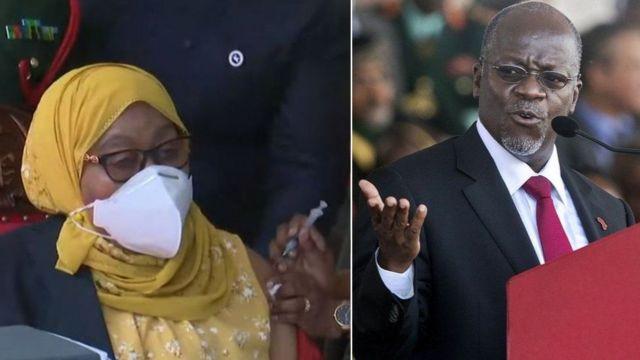 President Samia go against Magufuli anti-vaccine policy