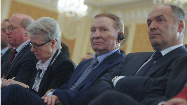 Леонід Кучма і Віктор Пінчук