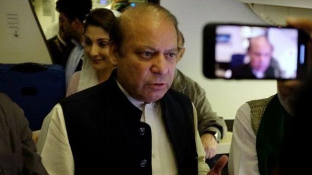 تنشهای سیاسی همزمان با بازگشت نواز شریف به پاکستان شدت گرفته است