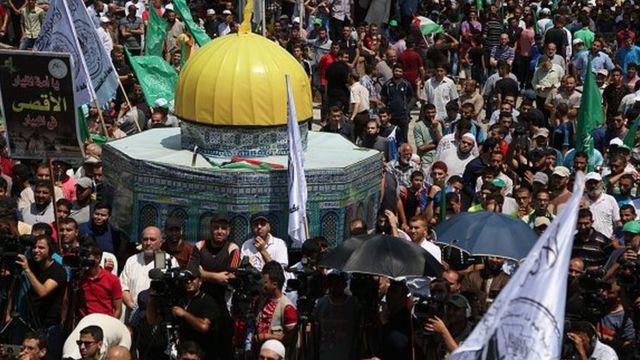 مظاهرات في عدة دول عربية وإسلامية دعما للأقصى