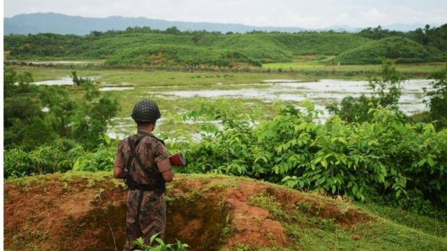 ဘင်္ဂလားဒေ့ရှ်မြန်မာနယ် စပ်လုံခြုံရေး