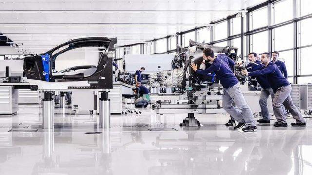 Fábrica de Bugatti