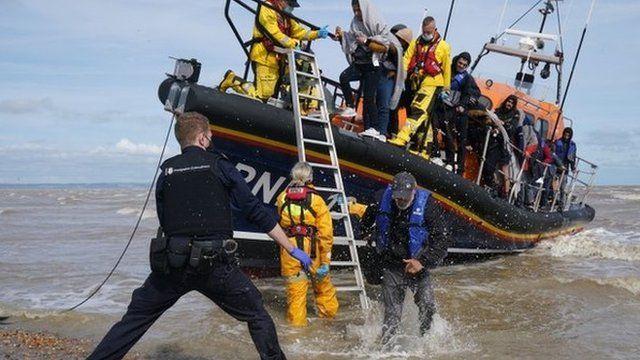 Migrantes en reino Unido