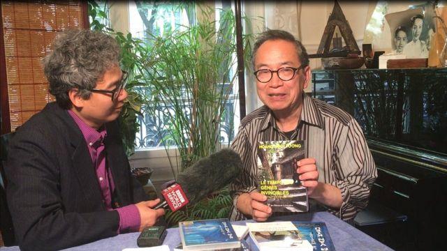 Ông Bùi Xuân Quang (phải)