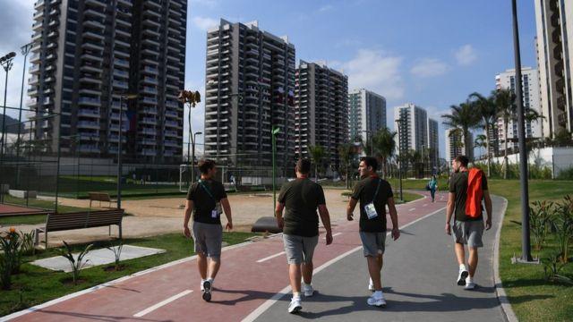 Prédios da Vila Olímpica da Rio 2016