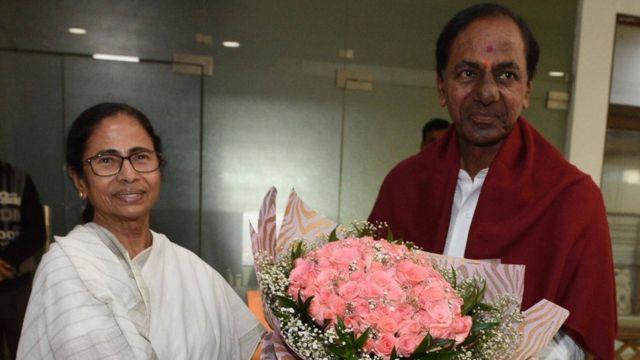 కేసీఆర్ మమతా బెనర్జీ