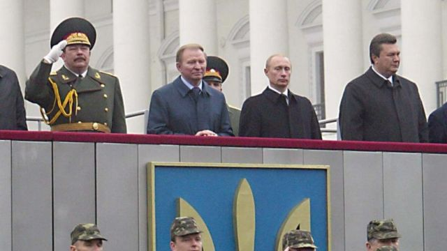 Кузьмук, Кучма, Путін, Янукович