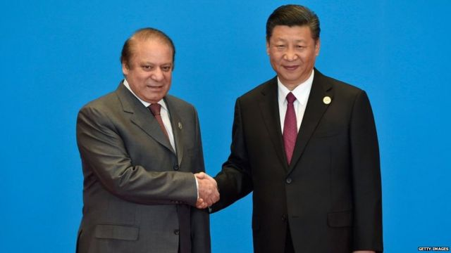 चीनचे राष्ट्राध्यक्ष झी जिनपिंग यांच्यासह पाकिस्तानचे माजी पंतप्रधान नवाझ शरीफ