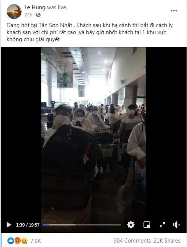 Người Việt từ Hàn về nước bị buộc cách ly _114706576_cachly3