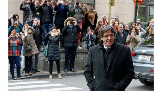 الزعيم الكتالوني السابق بوجديمون