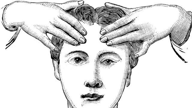Masaje en la cabeza