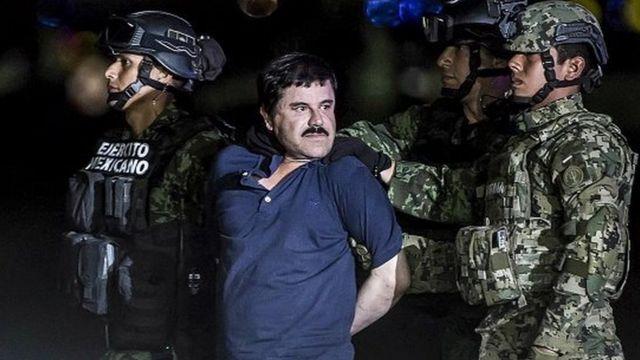 Joaquin Guzman de son vrai nom, l'un des criminels les plus recherchés au monde