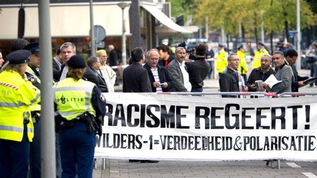 تظاهرات هلند