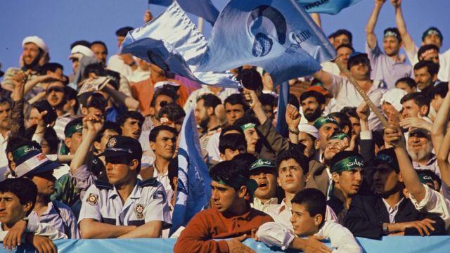 Refah Partisi'nin 1995'te İstanbul'daki bir gösterisi.