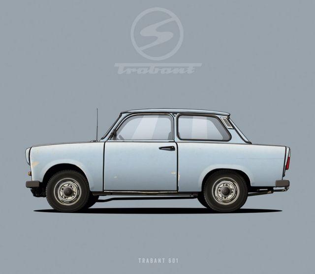 Trabant 601 - Trabi