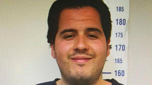 ブラヒム・エルバクラウイ容疑者は、トルコ・シリア国境のガジアンテプで拘束された。写真は昨年7月にトルコ警察が撮影。